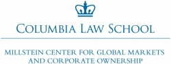 Millstein Center at Columbia Law School Logo